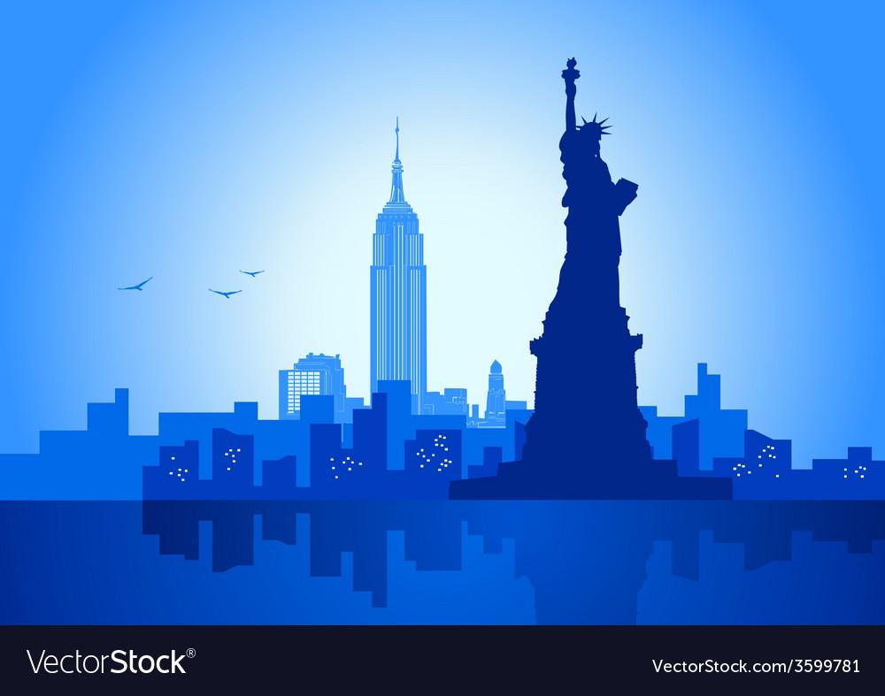 New york city vector | Price: 1 Credit (USD $1)