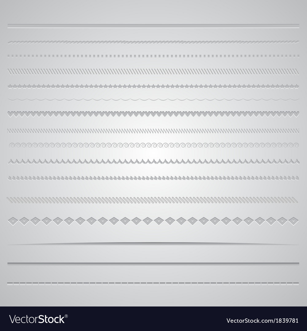 Page dividers 0801 vector | Price: 1 Credit (USD $1)