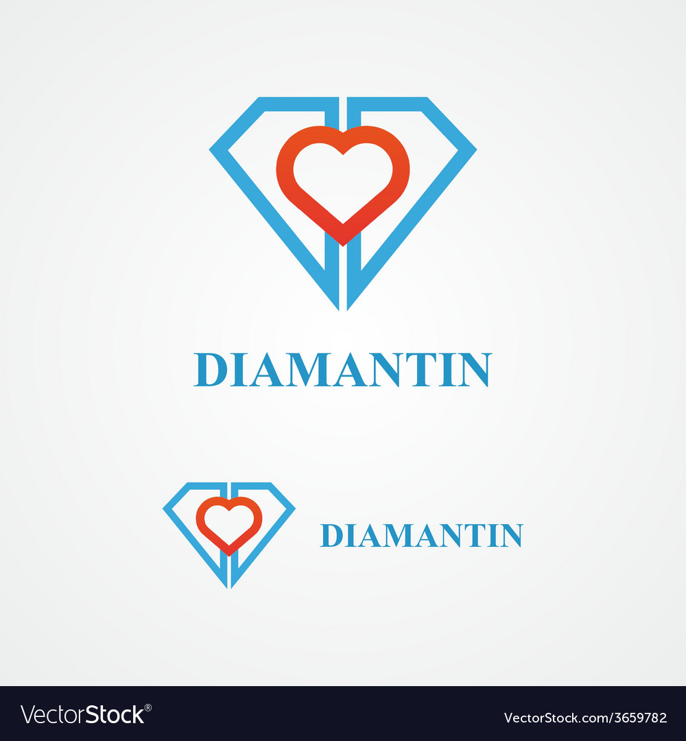 Design diamond logo element vector | Price: 1 Credit (USD $1)