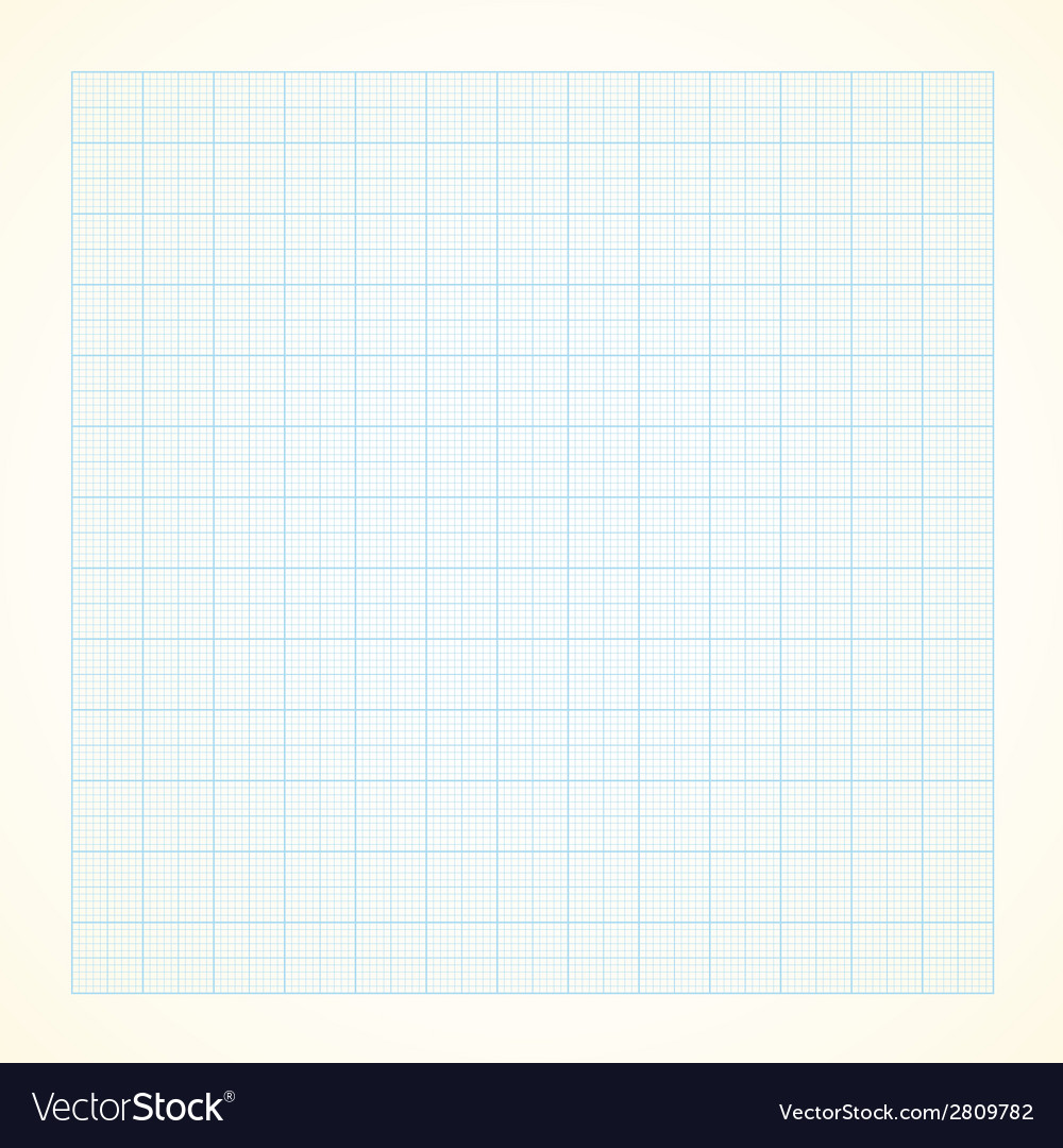 Graph grid paper background vector | Price: 1 Credit (USD $1)