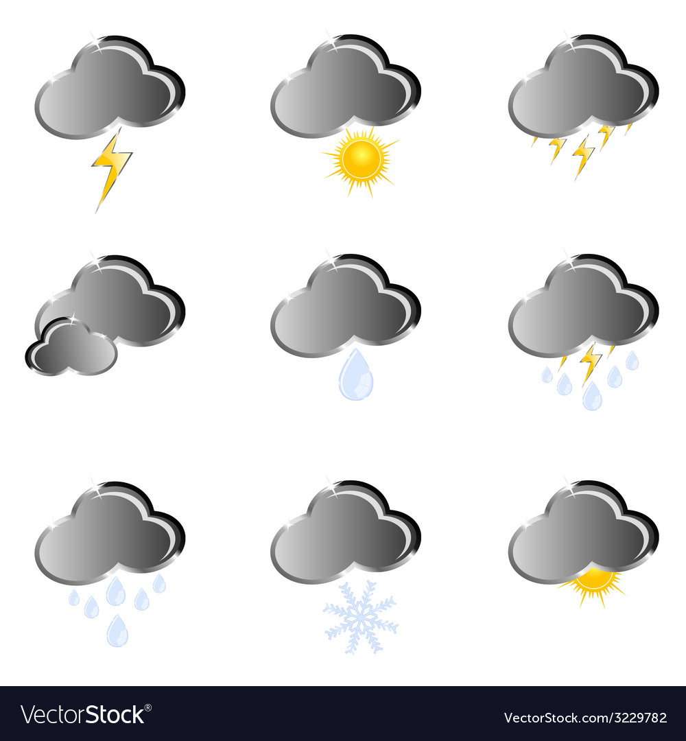 Icon for weather forecast vector | Price: 1 Credit (USD $1)