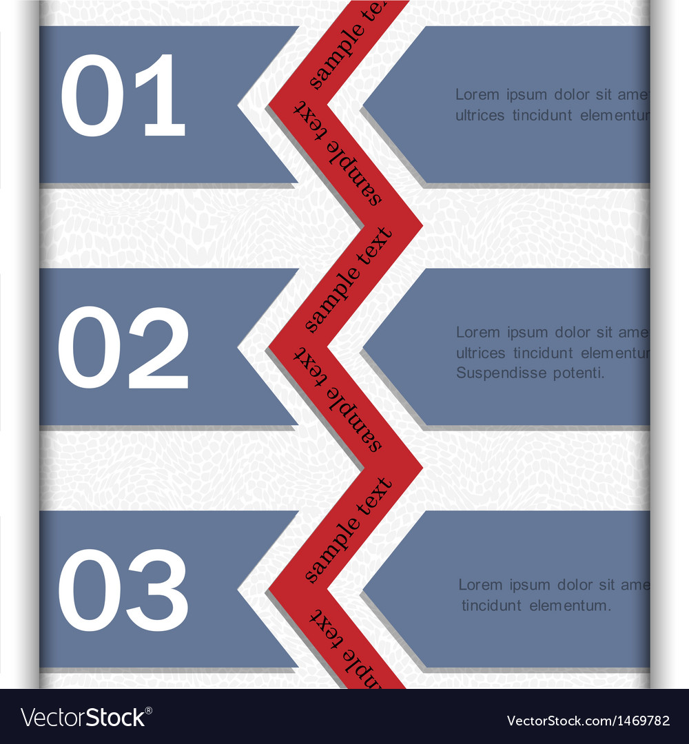Paper banners for infographics design vector | Price: 1 Credit (USD $1)