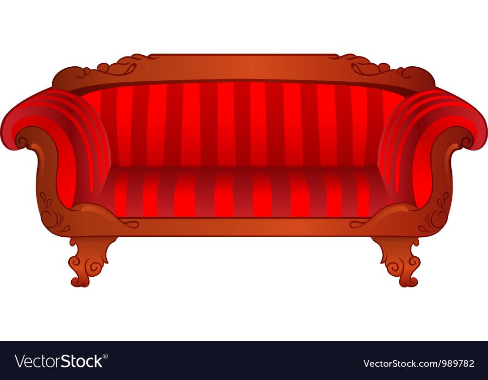 Sofa vector | Price: 3 Credit (USD $3)