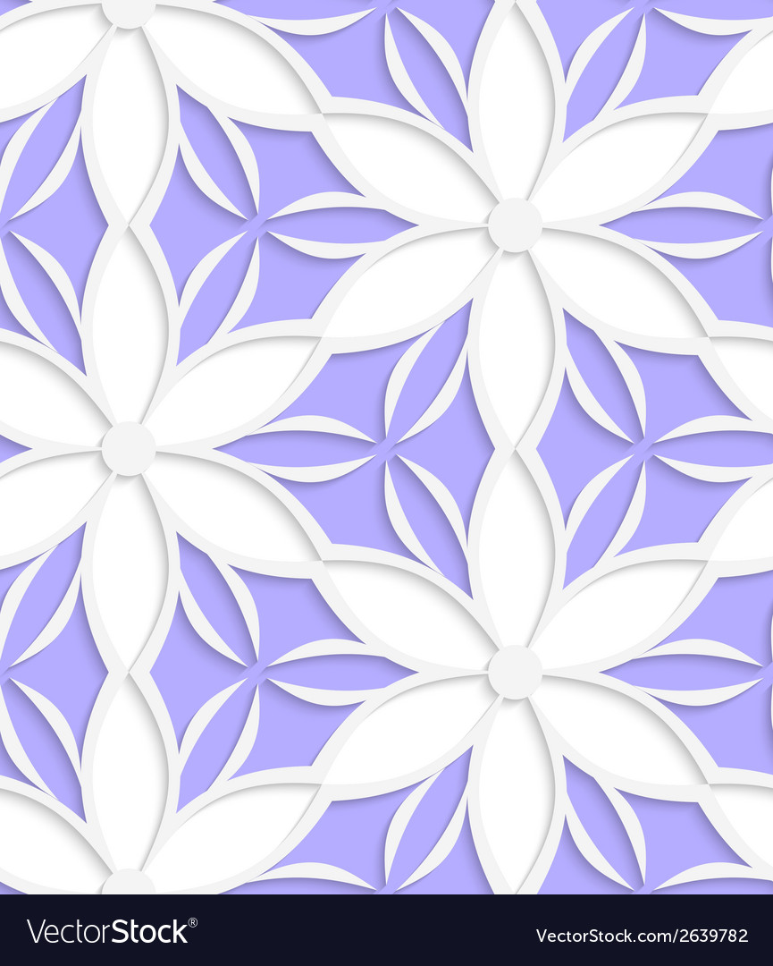 White floral detailed with purple seamless vector   Price: 1 Credit (USD $1)