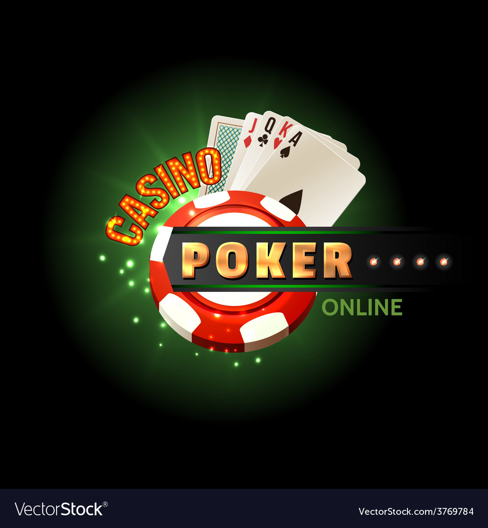 Casino poker online poster vector | Price: 3 Credit (USD $3)