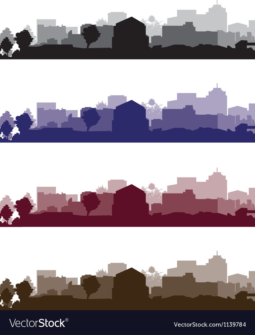 Cityscapes short vector | Price: 1 Credit (USD $1)