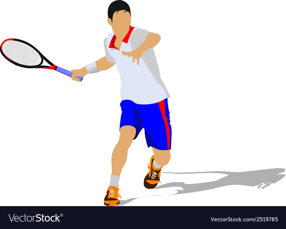 Al 0330 tennis 01 vector | Price: 1 Credit (USD $1)