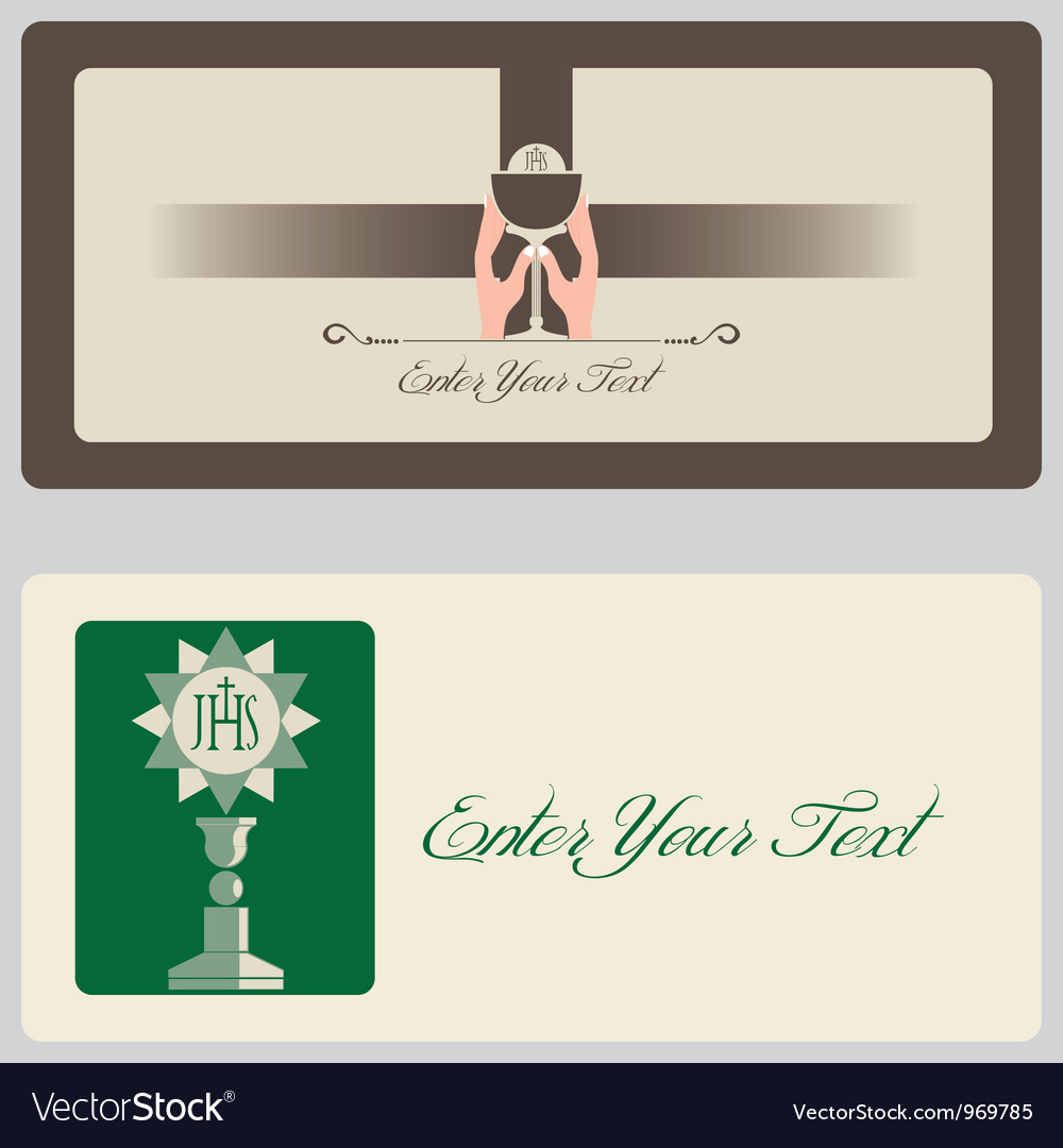 Religion - invitation cards vector | Price: 1 Credit (USD $1)