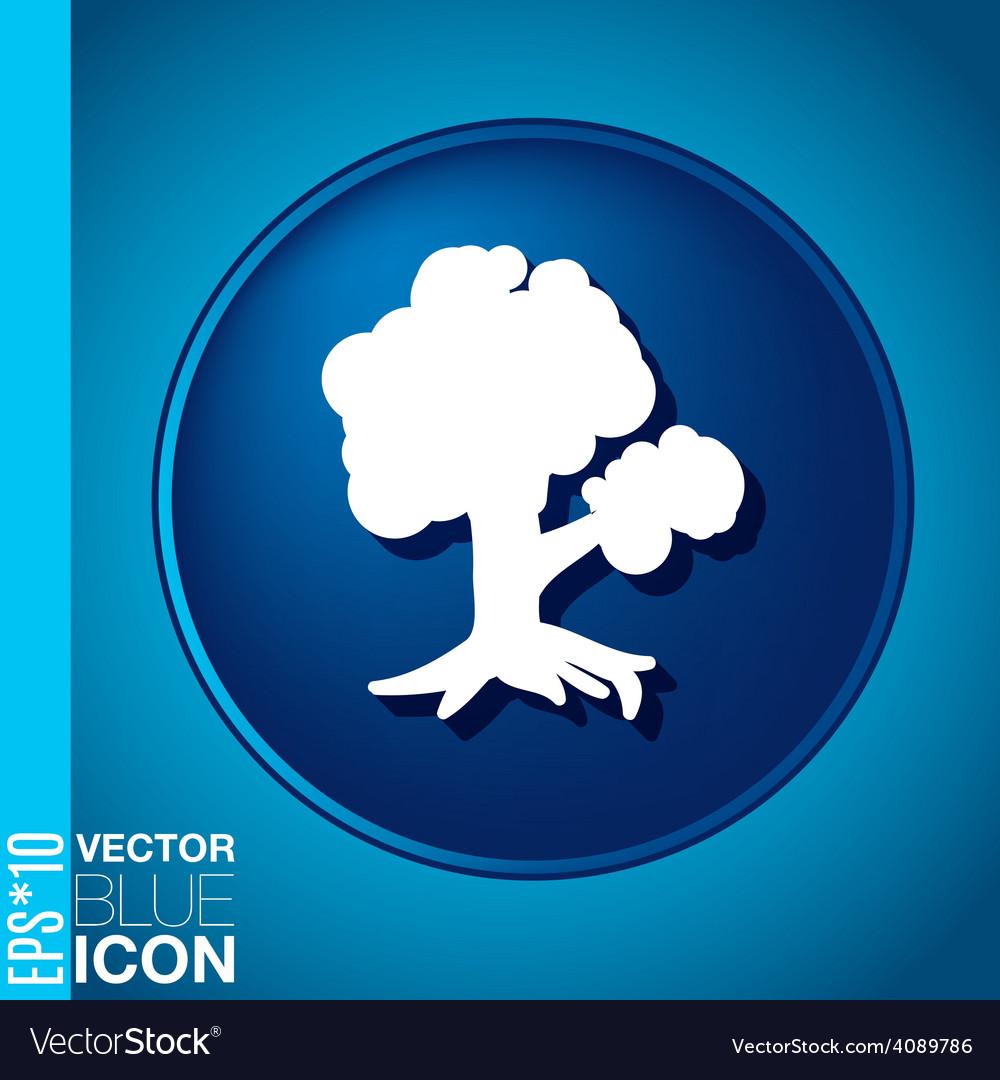 Tree symbol icon nature sign vector   Price: 1 Credit (USD $1)