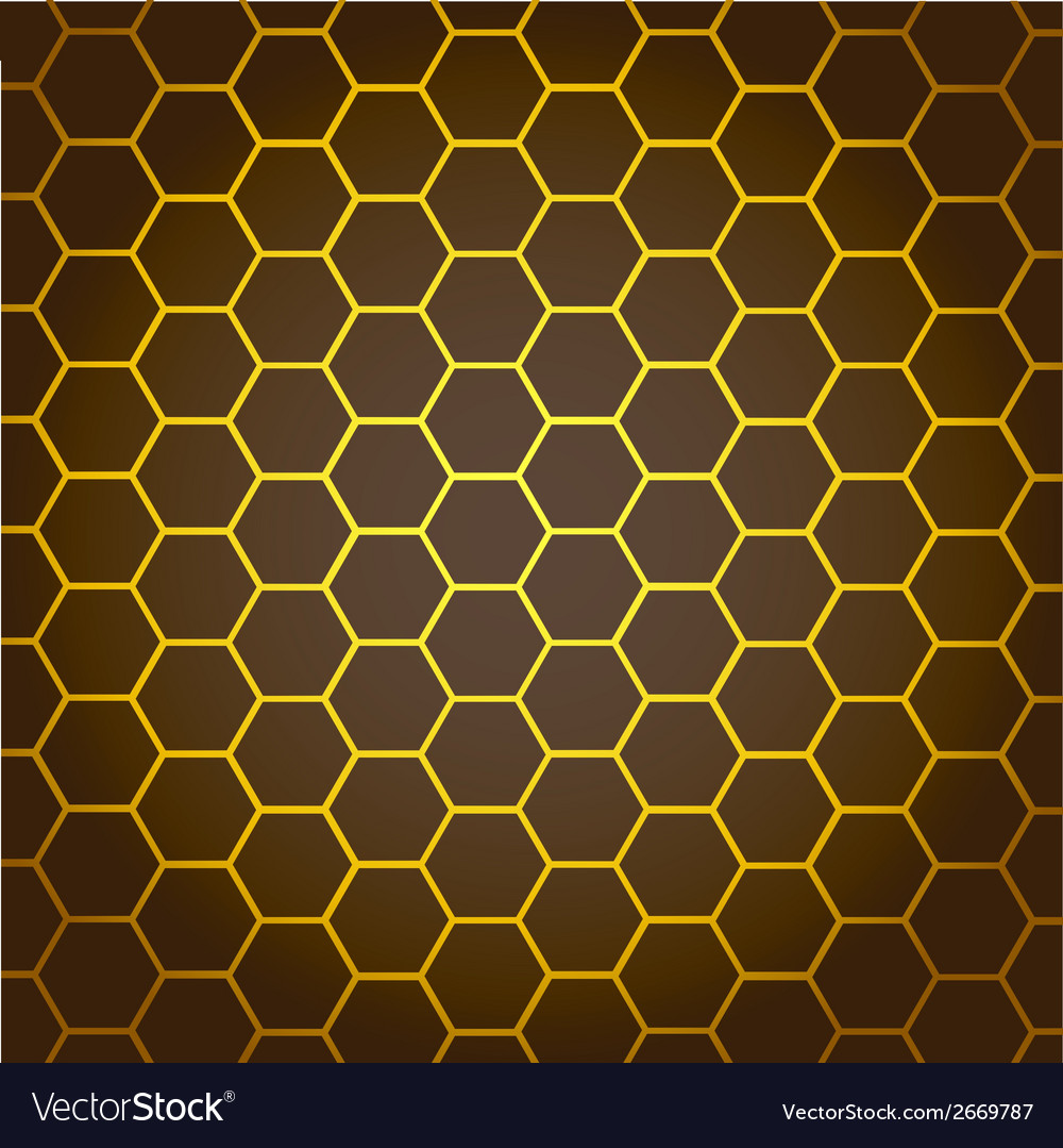 Abstract background honeycombs vector | Price: 1 Credit (USD $1)