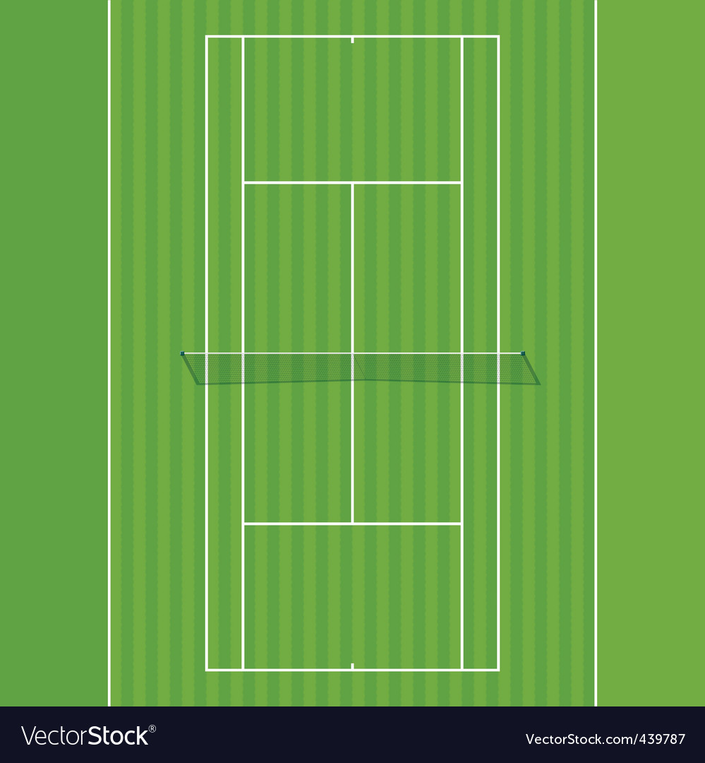 Grass court vector | Price: 1 Credit (USD $1)