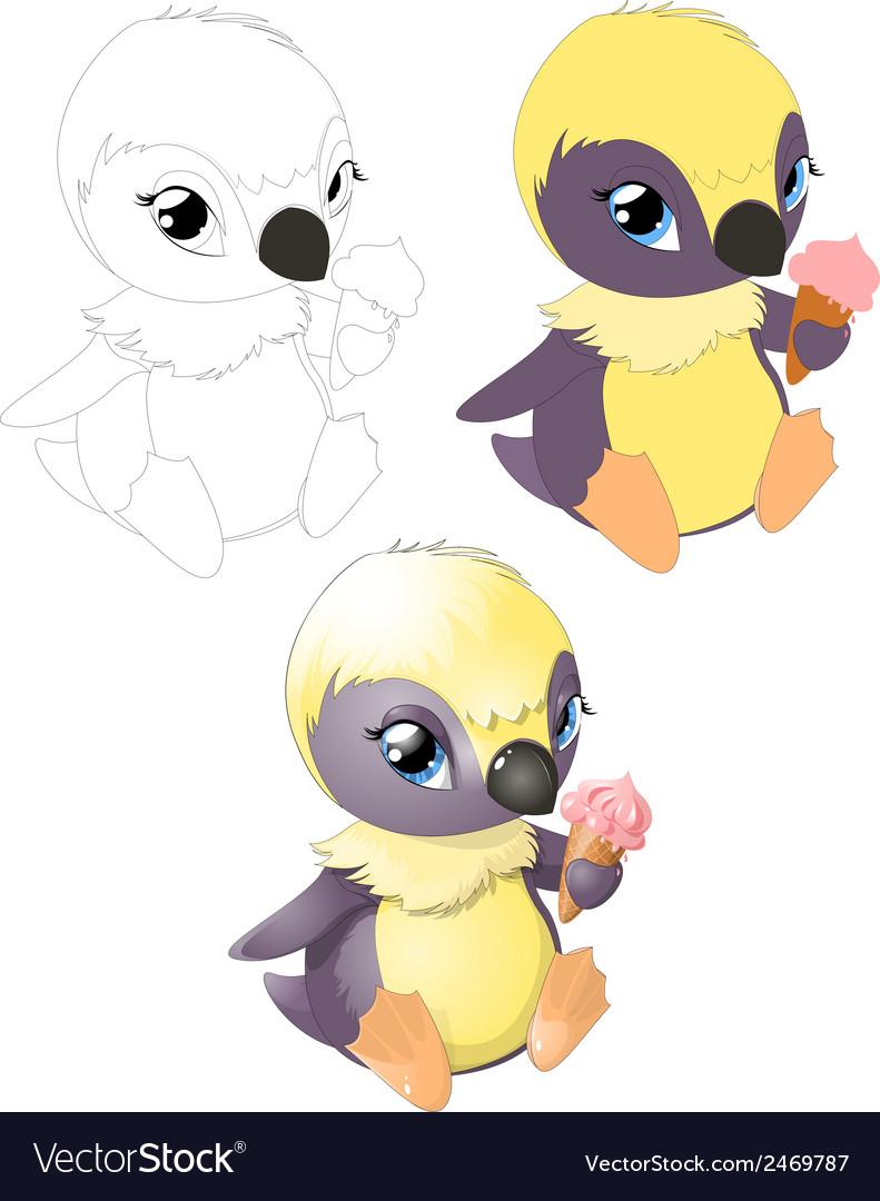 Pingvin2 vector | Price: 1 Credit (USD $1)
