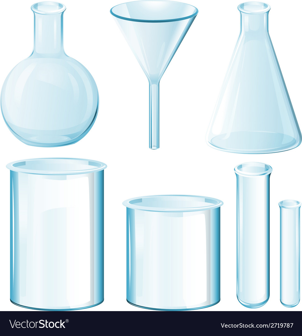 Science equipments vector | Price: 1 Credit (USD $1)