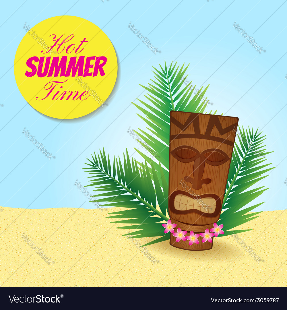 Tiki tiki 2 vector | Price: 1 Credit (USD $1)
