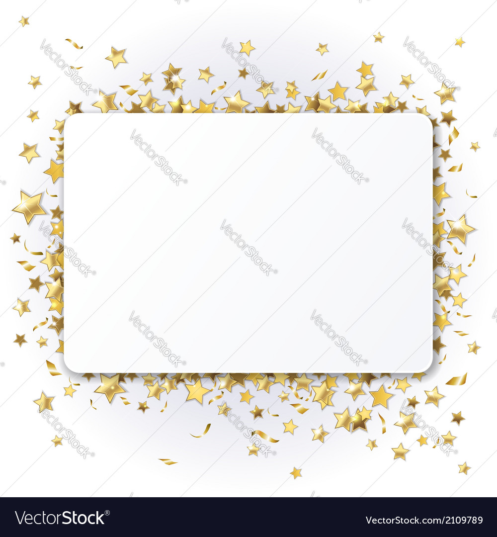 Background with twinkling stars vector | Price: 1 Credit (USD $1)
