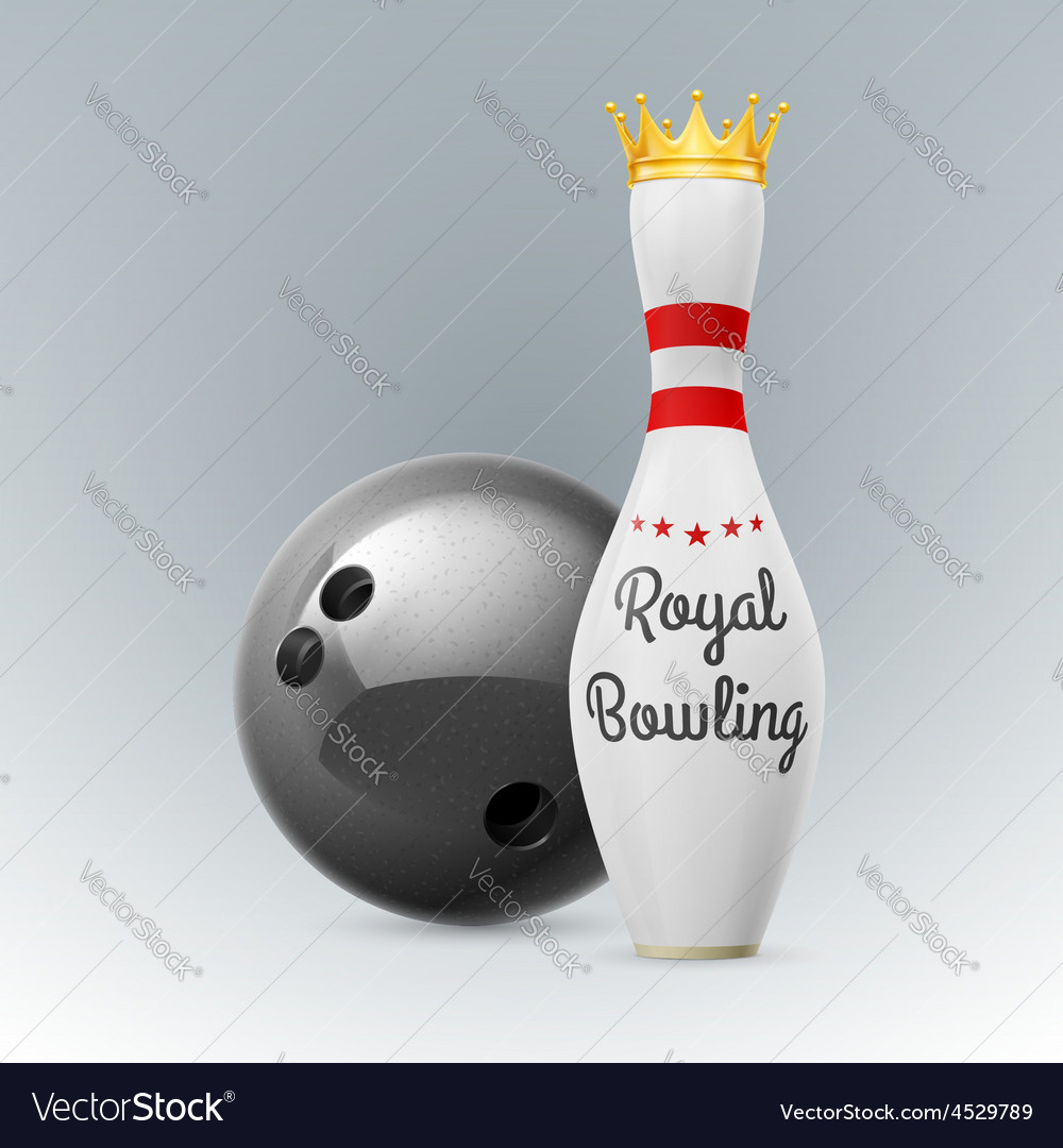 Bowling vector | Price: 3 Credit (USD $3)