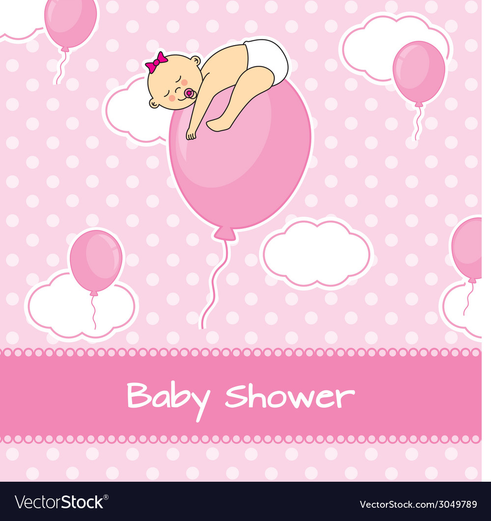 Child sleeping on top of a balloon vector | Price: 1 Credit (USD $1)