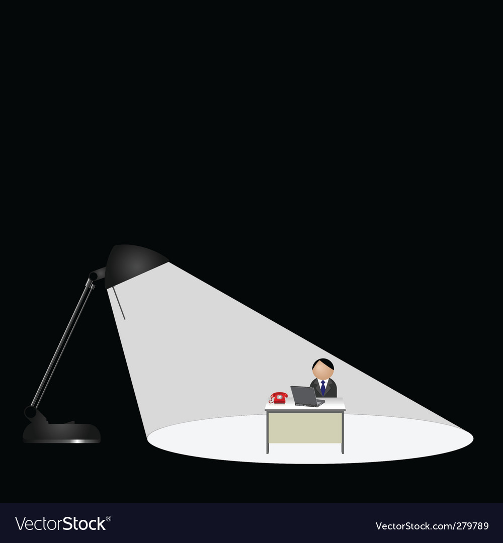 Lamp worker vector | Price: 1 Credit (USD $1)