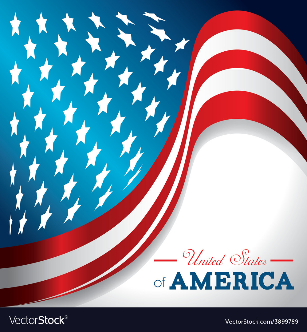 Usa design vector | Price: 1 Credit (USD $1)