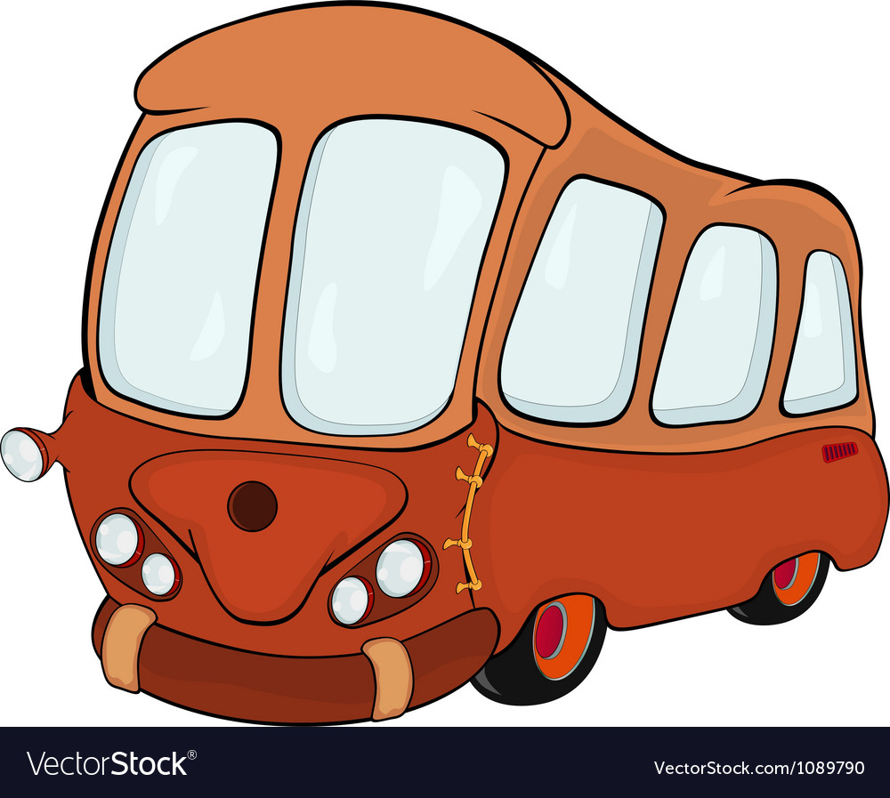 The bus vector | Price: 1 Credit (USD $1)