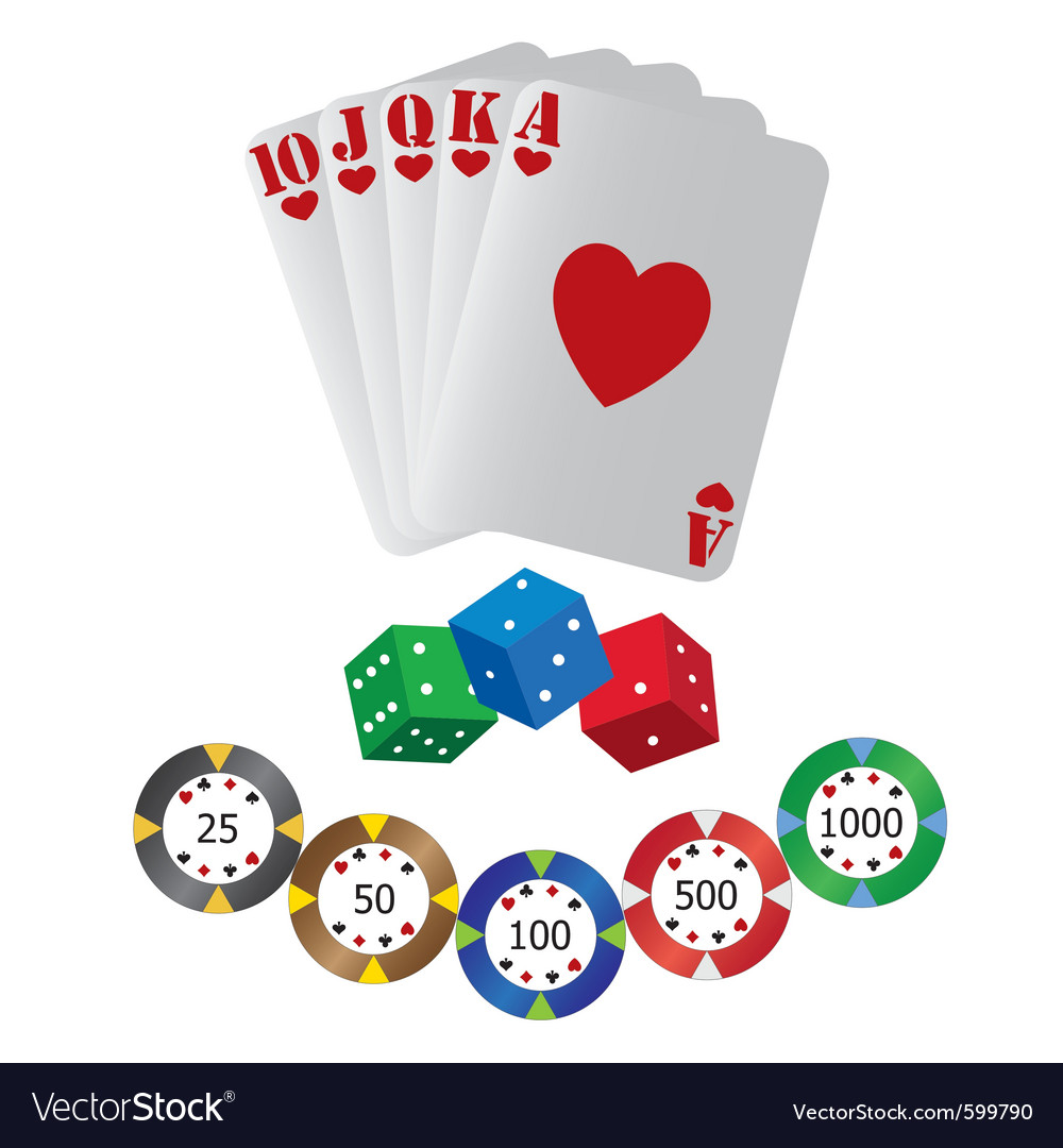 Casino playing cards vector | Price: 1 Credit (USD $1)