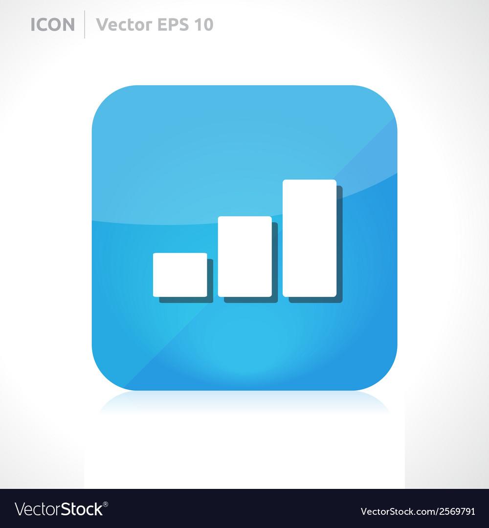 Graph icon vector   Price: 1 Credit (USD $1)