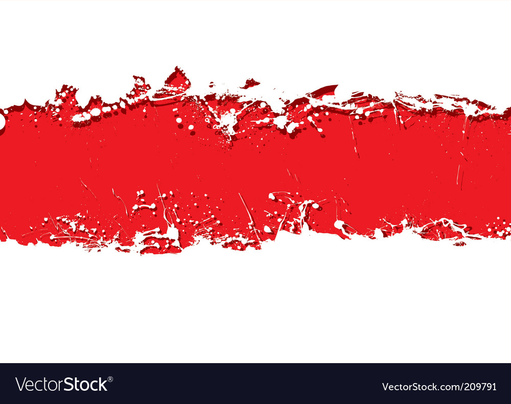 Grunge strip background blood vector