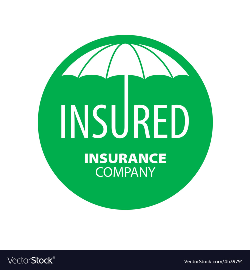 Logo umbrella for insurance company vector | Price: 1 Credit (USD $1)