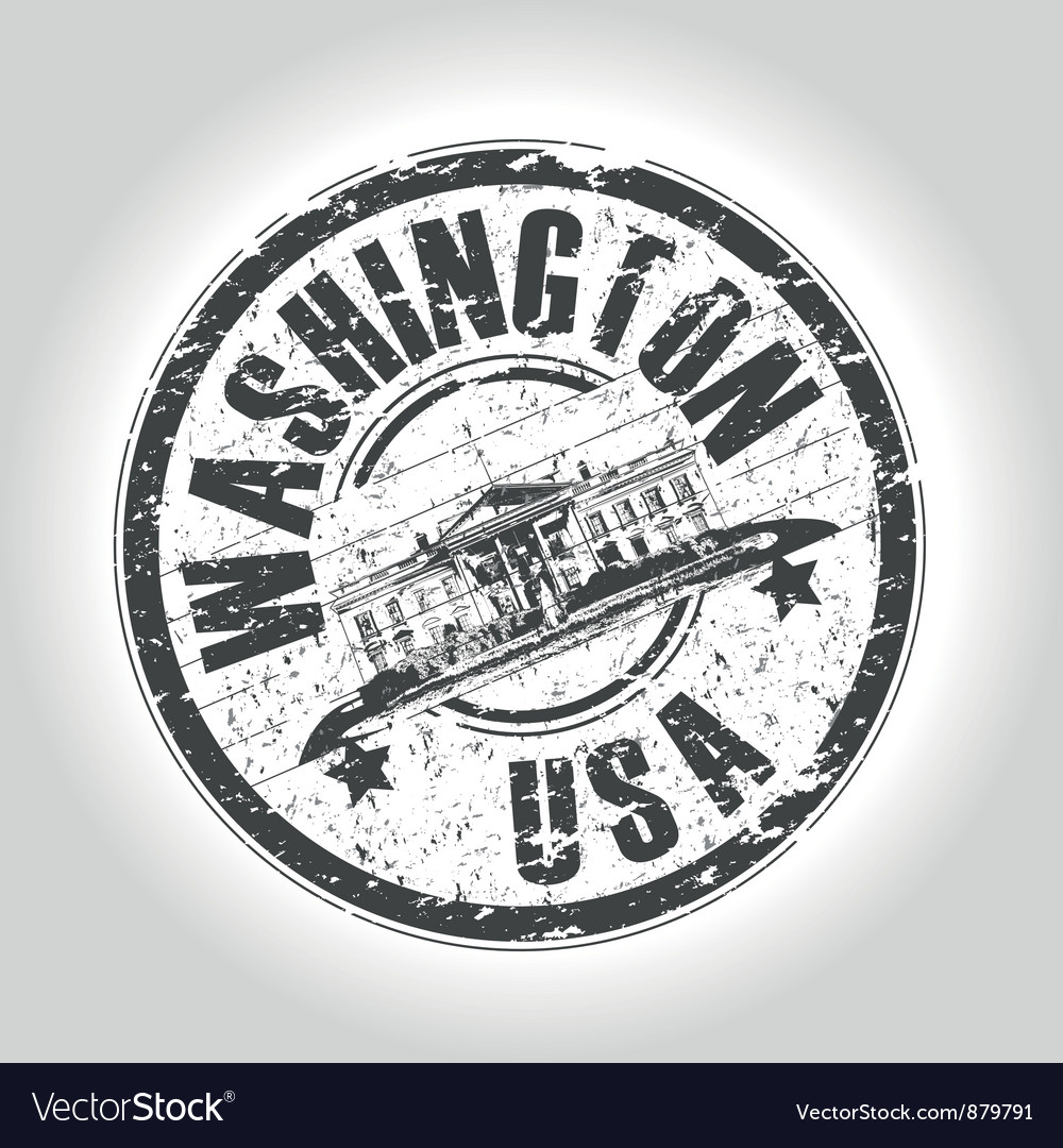 Washington vector | Price: 1 Credit (USD $1)