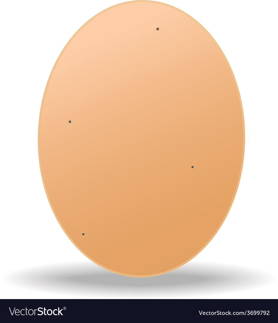 Brown egg vector | Price: 1 Credit (USD $1)