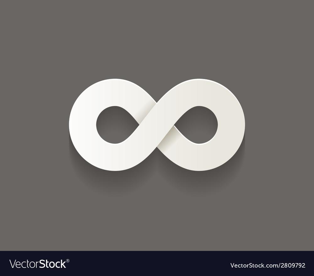 Infinity icon vector | Price: 1 Credit (USD $1)