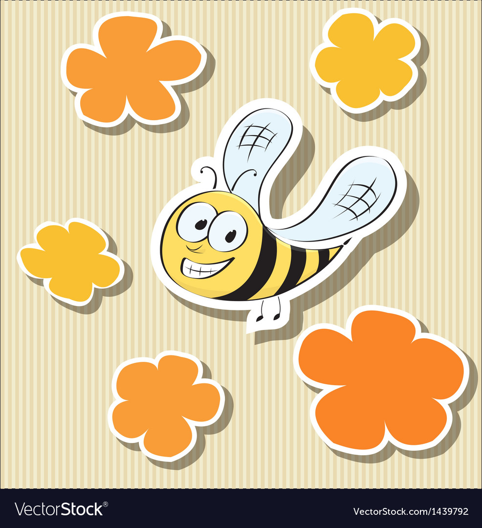 Set of elements flower-shaped paper tags and vector | Price: 1 Credit (USD $1)