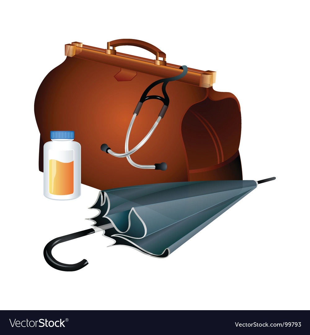 Family doctor survival kit vector | Price: 1 Credit (USD $1)