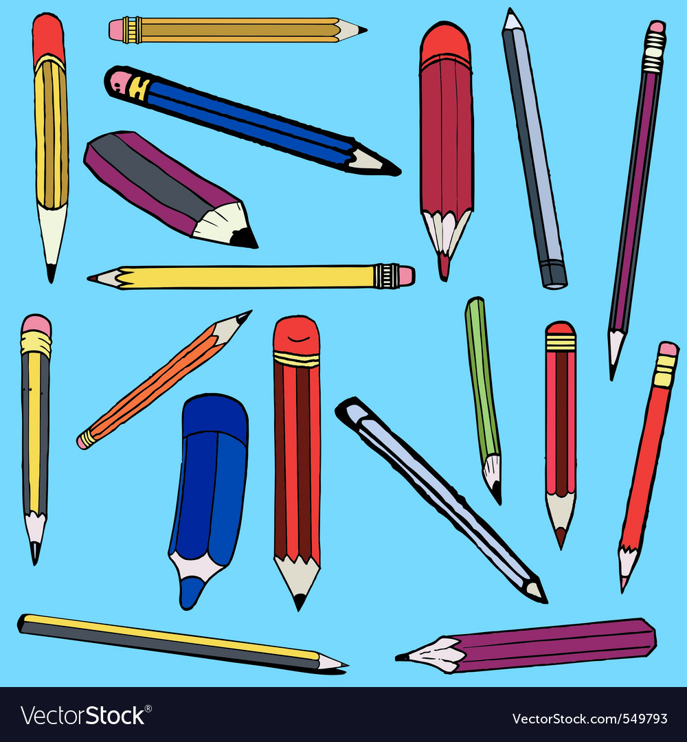 Pencil comics vector | Price: 1 Credit (USD $1)