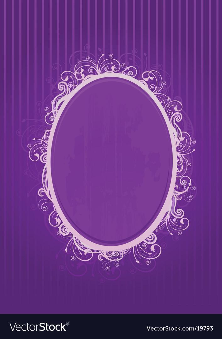 Violet frame vector   Price: 1 Credit (USD $1)