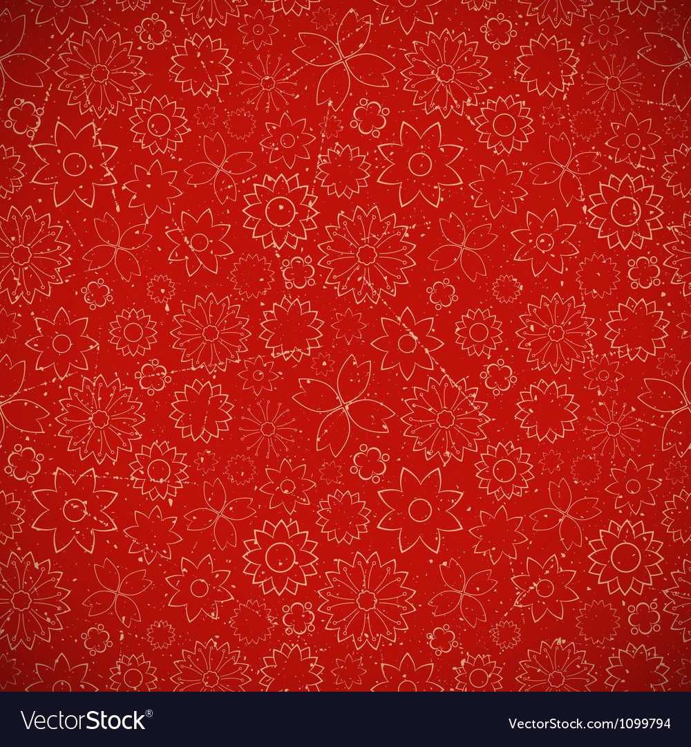 Christmas floral background vector | Price: 1 Credit (USD $1)
