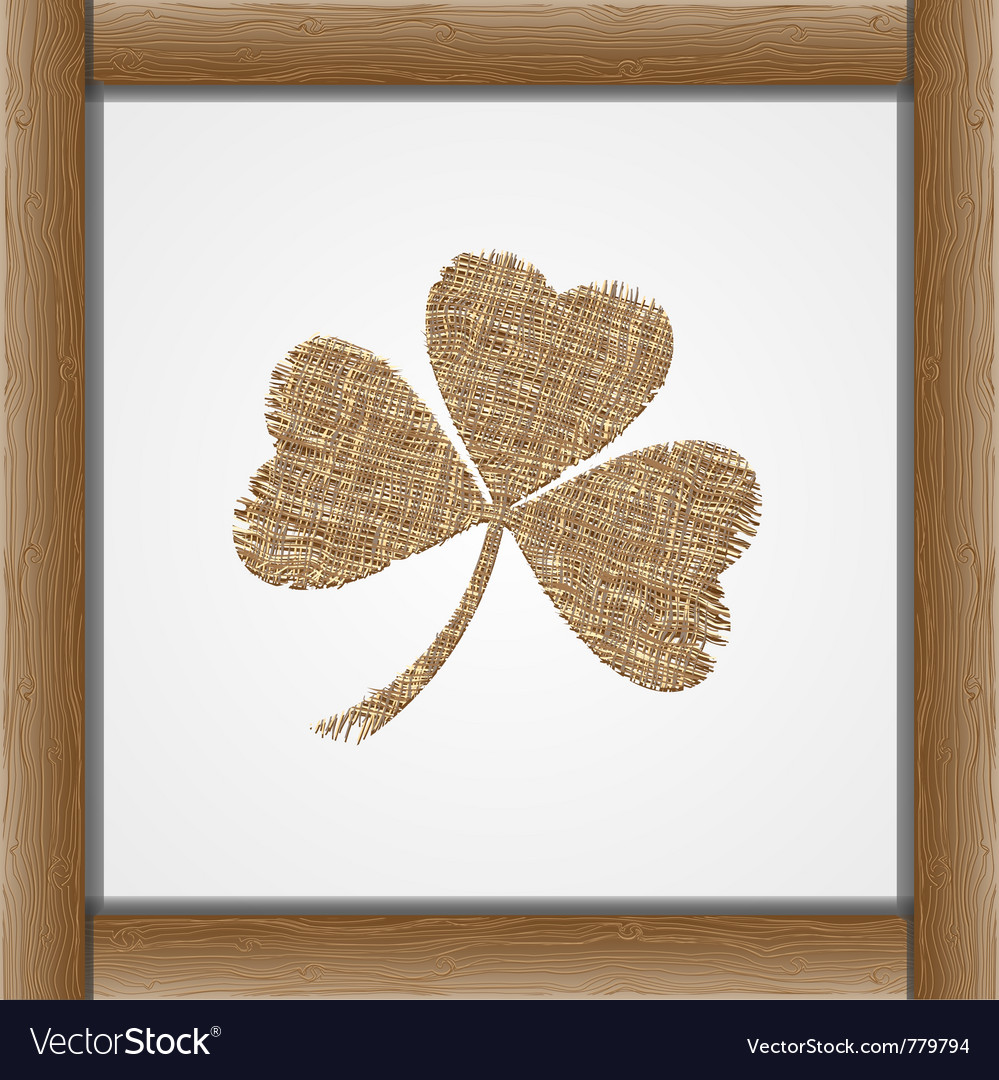 Leaf of clover vector | Price: 1 Credit (USD $1)