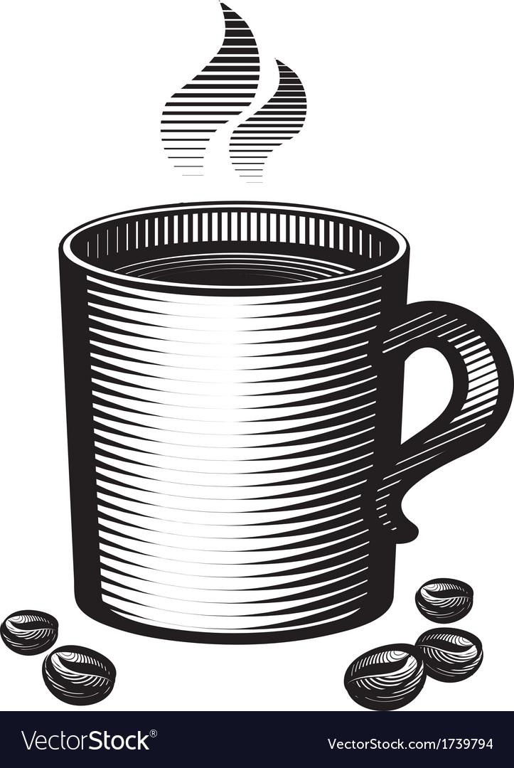 Mug of coffee vector | Price: 1 Credit (USD $1)