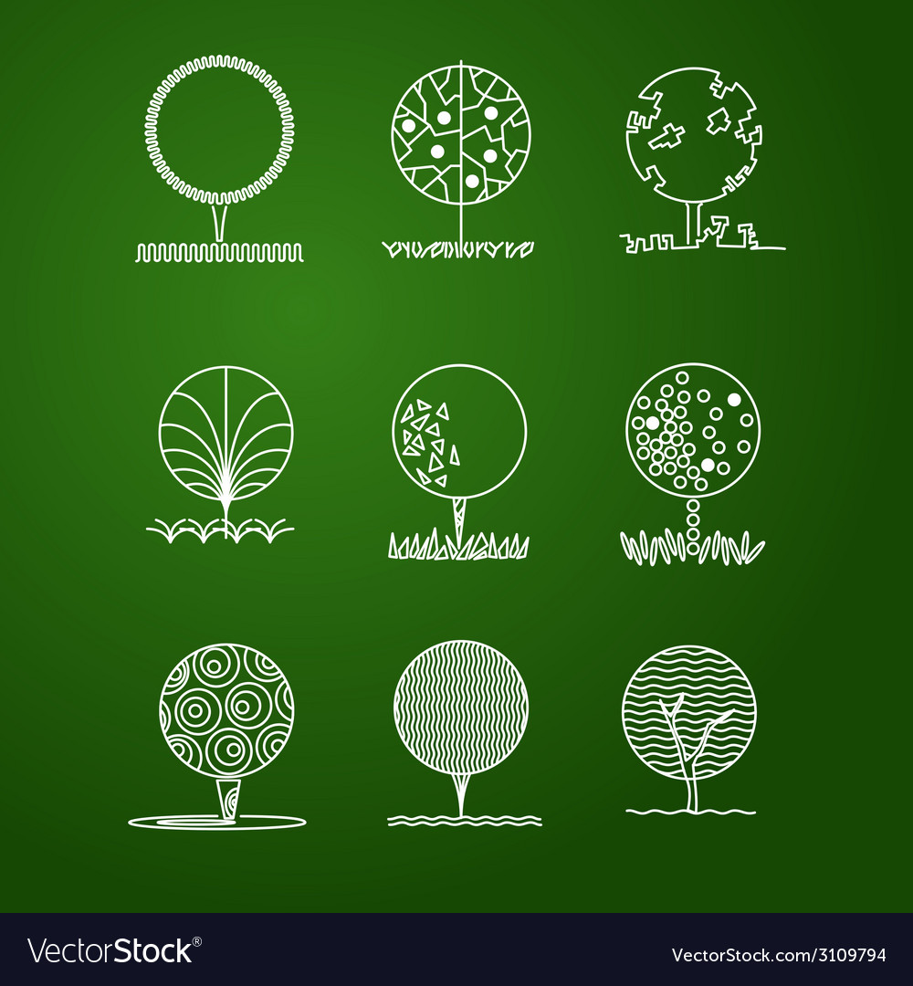 Set of trees vector   Price: 1 Credit (USD $1)