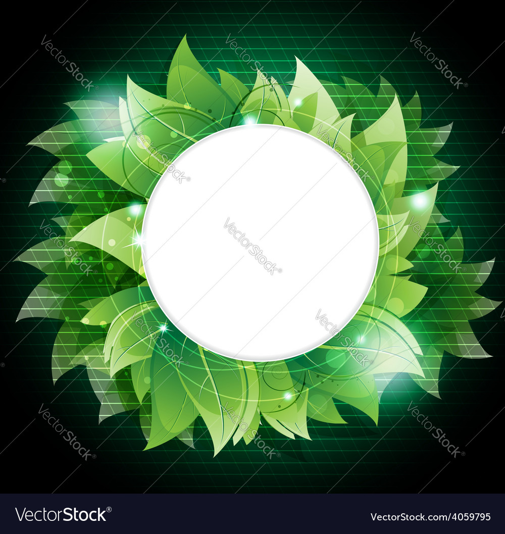 Dense green foliage vector | Price: 3 Credit (USD $3)