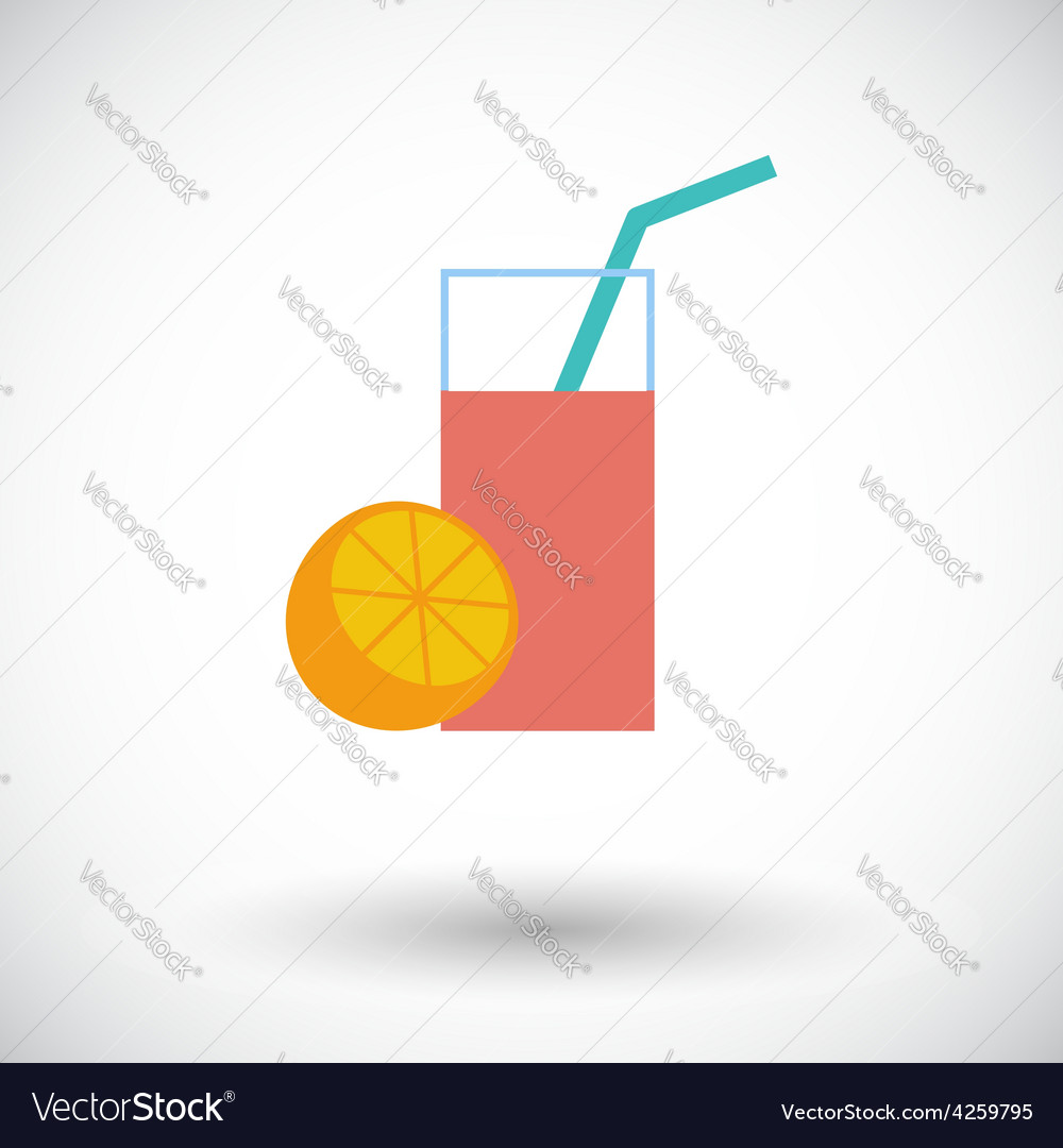 Fruit juice icon vector | Price: 1 Credit (USD $1)