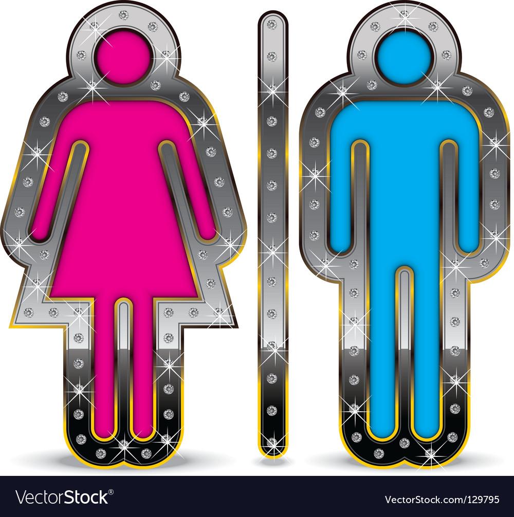Gender symbol vector | Price: 1 Credit (USD $1)