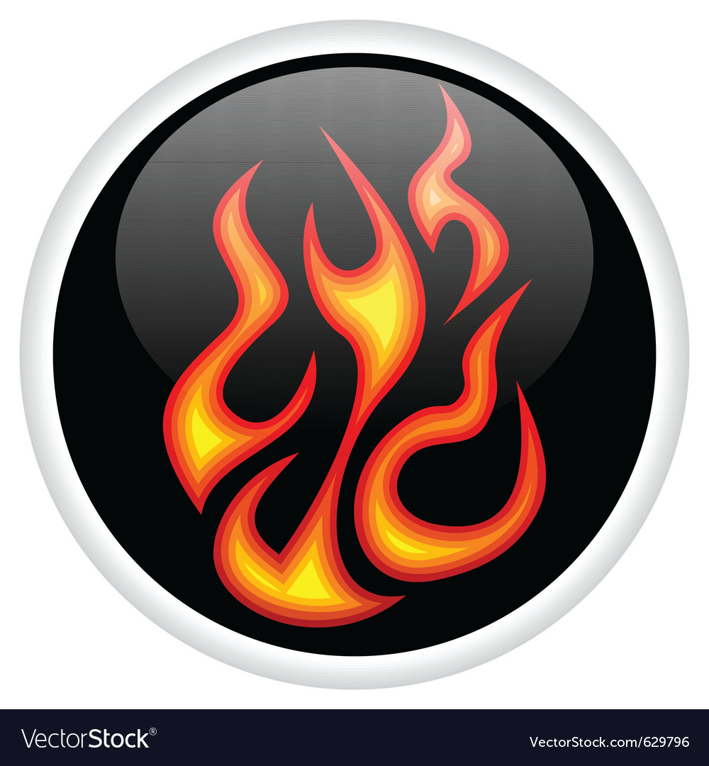 Flame logo vector | Price: 1 Credit (USD $1)