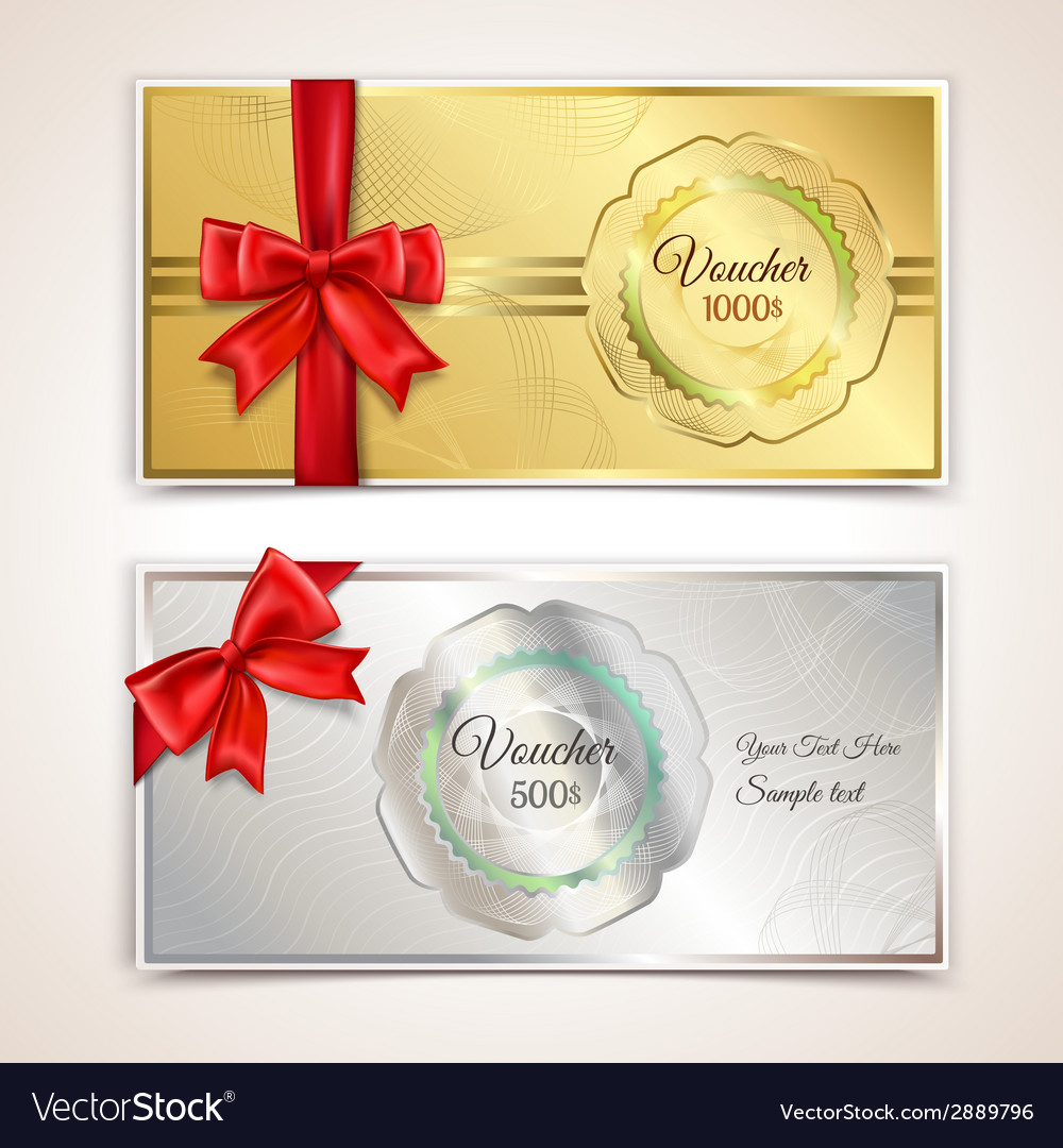 Gift vouchers template vector | Price: 1 Credit (USD $1)