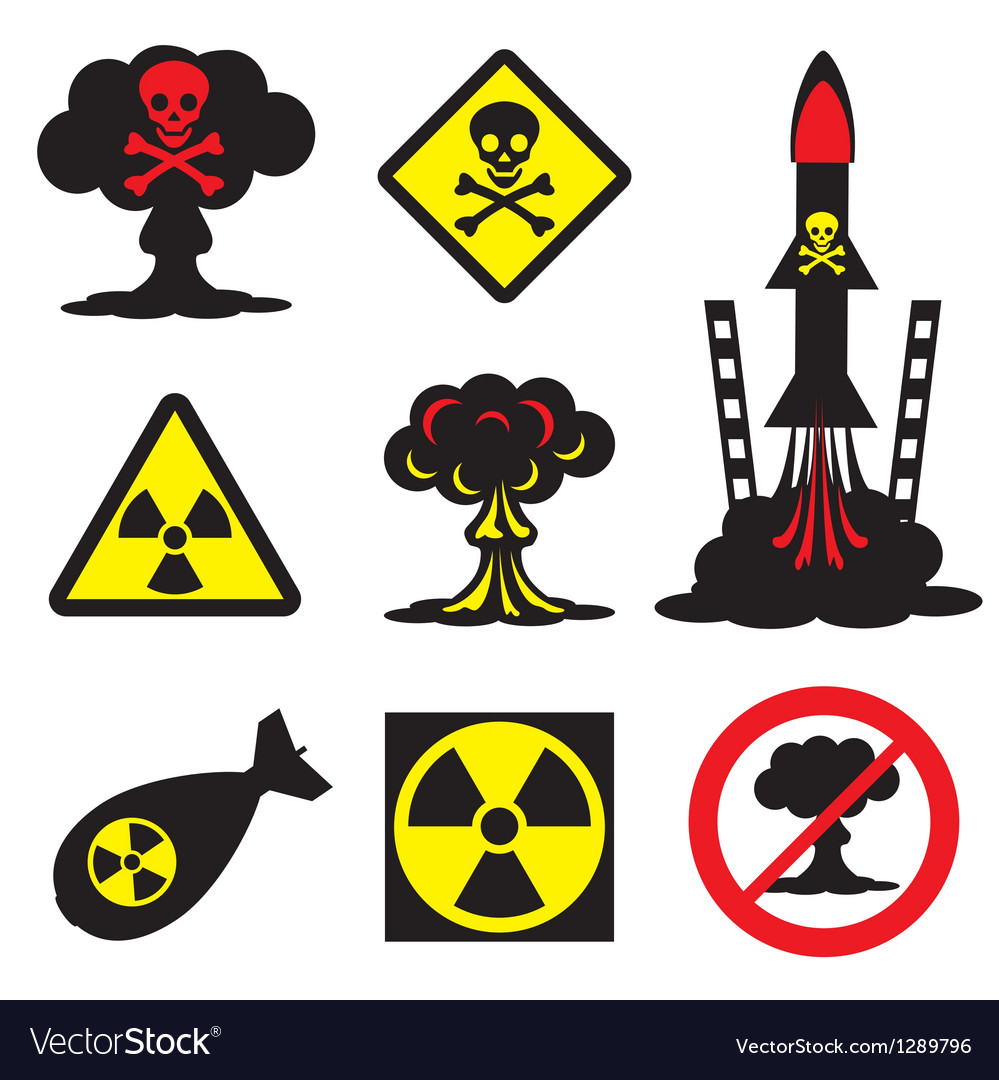 Radiation hazard vector | Price: 1 Credit (USD $1)