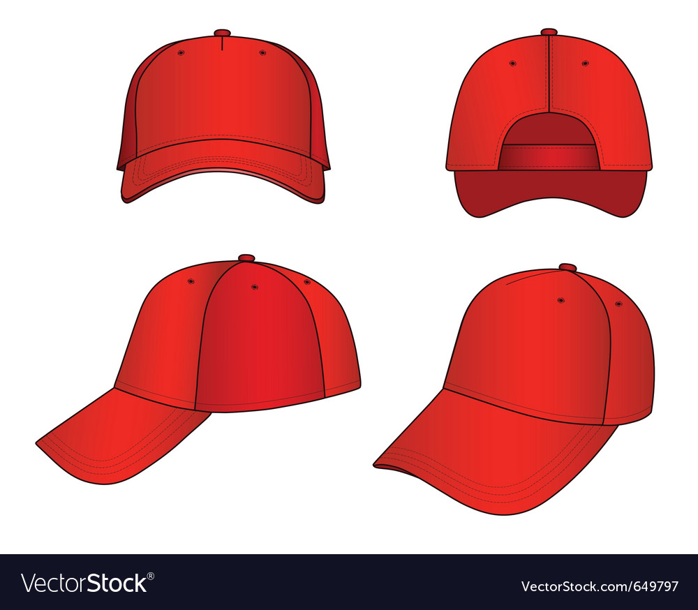 Cap vector | Price: 1 Credit (USD $1)