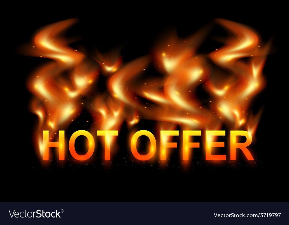 Flames background vector | Price: 1 Credit (USD $1)
