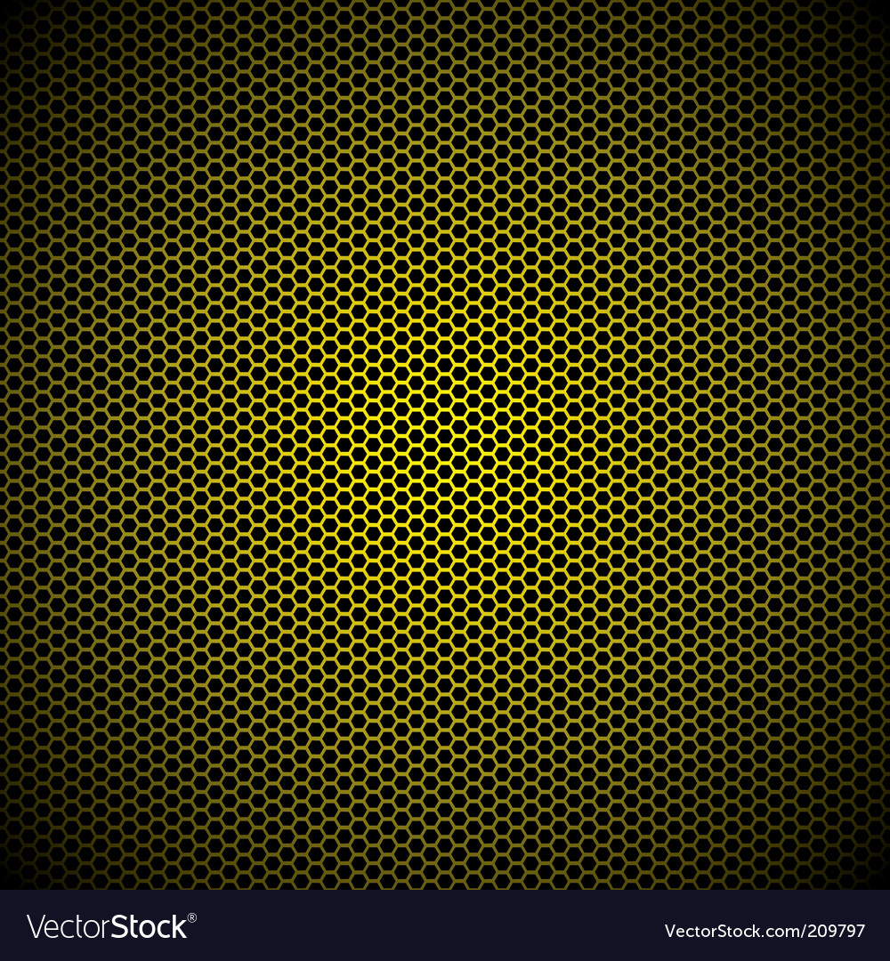Hexagon gold background vector | Price: 1 Credit (USD $1)