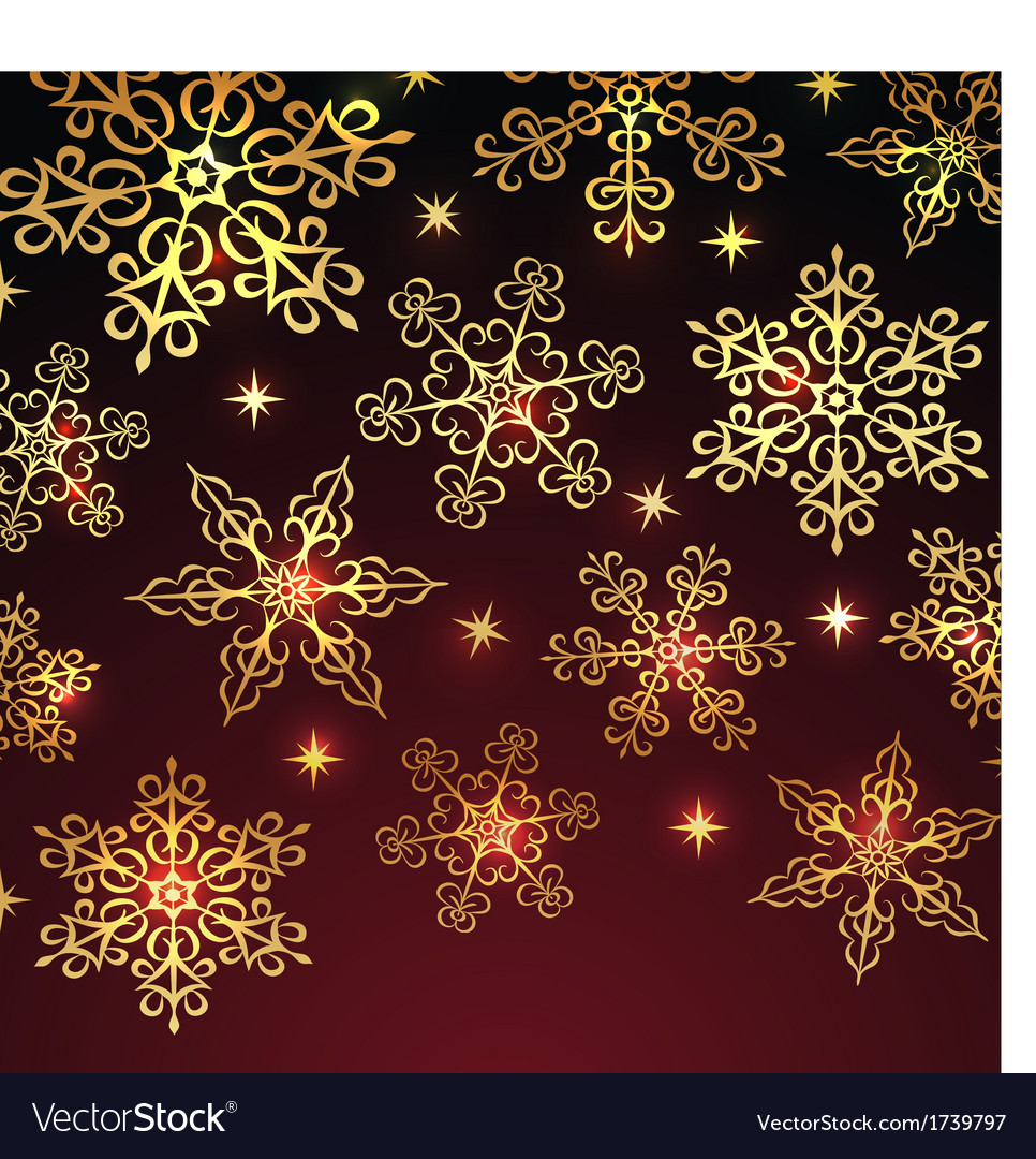 Holiday winter background vector | Price: 1 Credit (USD $1)