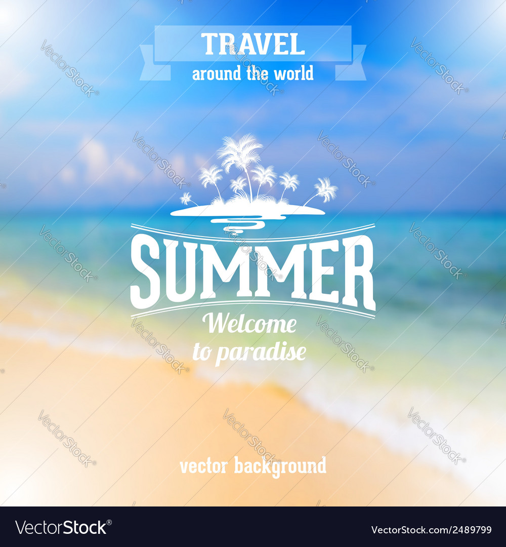Summer time vector   Price: 1 Credit (USD $1)